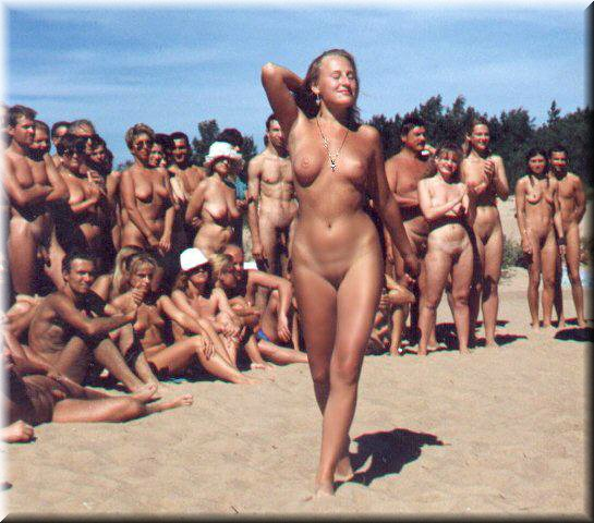 Amateur nude beach voyeur sluts enjoying the warm sun 4